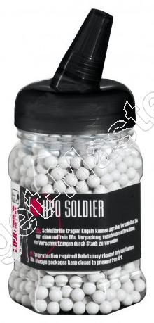 TOKYO SOLDIER  -  Airsoft BB  -  kaliber 6mm  -   QUALITY SELECTION  -  0.20 gram  -  inhoud  1000